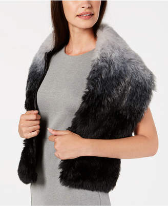 INC International Concepts I.N.C. Ombré Faux-Fur Stole, Created for Macy's