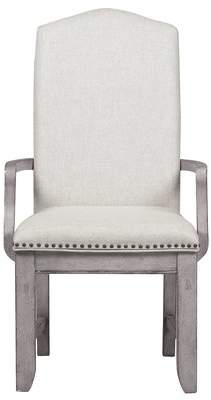 Gracie Oaks Tarentum Back Arm Chair (Set of 2)