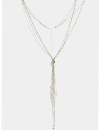 A|X Lariat Necklace