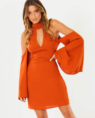 Genoa Halter Neck Dress