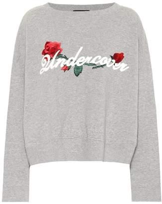 Undercover Embroidered cotton sweatshirt