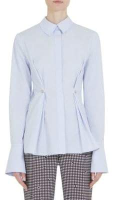 2eecc48020ef Free Shipping $99+: SHIP99 at Off 5th · Carven Long-Sleeve Darted Poplin  Cotton Top