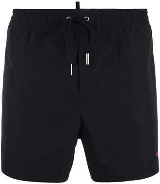 DSQUARED2 logo print swim shorts