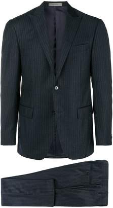 Corneliani two-piece pinstripe suit