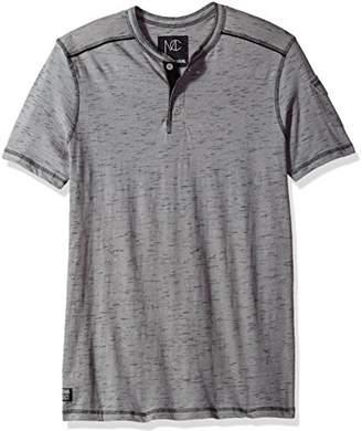 Modern Culture Men's Short Sleeve Henley Shirt