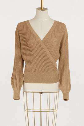 Vanessa Seward Lurex sweater