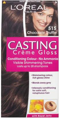 L'Oreal Casting Creme Gloss 515 Chocolate Truffle Brown Semi Permanent Hair Dye