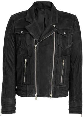 Balmain Leather Biker Jacket