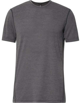 Reigning Champ Performance Melange Mesh T-Shirt - Men - Anthracite