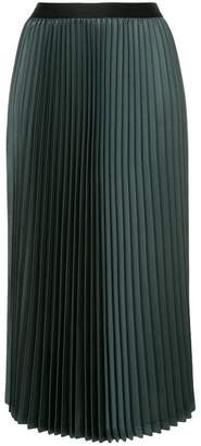 08sircus midi pleated skirt