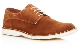Kenneth Cole Men's Corbett Suede Plain Toe Oxfords