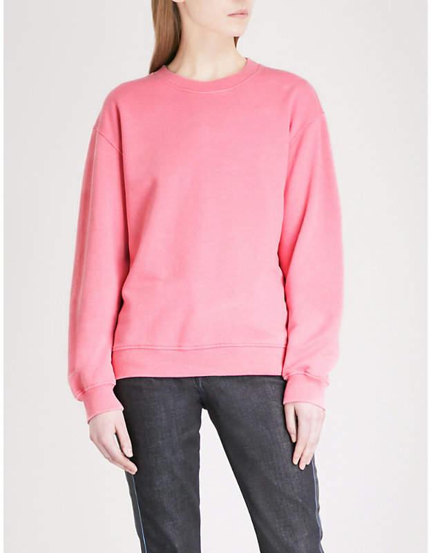 Victoria Victoria Beckham Relaxed-fit cotton-blend sweatshirt