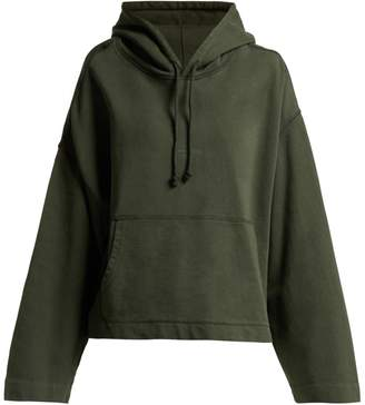 Acne Studios Joghy cropped cotton hooded sweatshirt