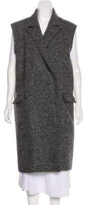 Lanvin Wool Longline Vest