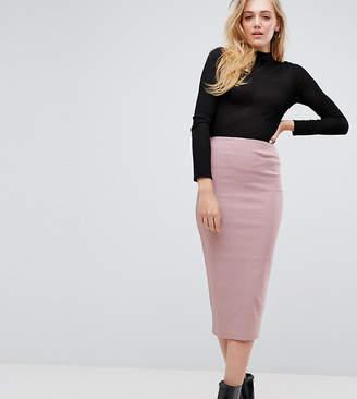 Asos Tall TALL High Waisted Longerline Pencil Skirt