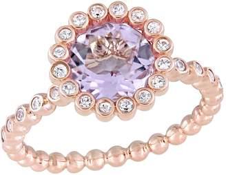 Rina Limor Fine Jewelry Women's Rose de France & Sapphire Ring