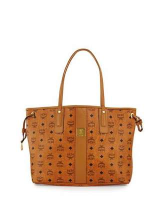 MCM Liz Reversible Medium Visetos Tote Bag $590 thestylecure.com
