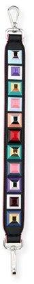 Fendi Strap You Mini Studded Shoulder Strap for Handbag, Black/Multi $600 thestylecure.com