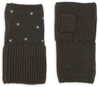 Carolyn Rowan Chunky Merino Wool Fingerless Gloves