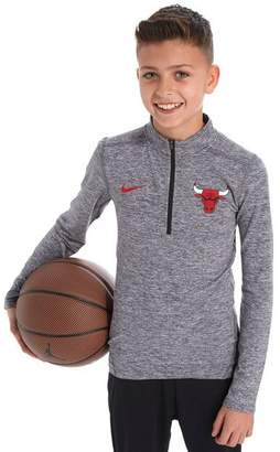 Nike Chicago Bulls 1/2 Zip Top Junior