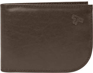 Travelon Safe ID Leather Front Pocket Wallet