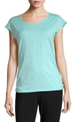 Gaiam Jenna Performance Cutout Tee