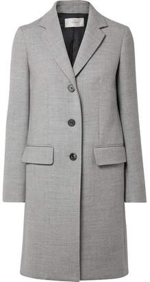 The Row Amutto Wool-twill Coat - Light gray