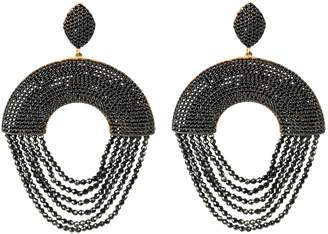 Latelita London - Monaco Earring Black Spinel