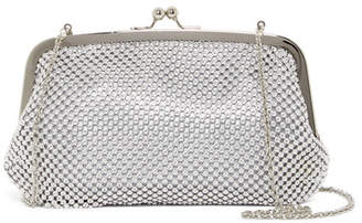 Jessica McClintock Chain Mesh Framed Clutch
