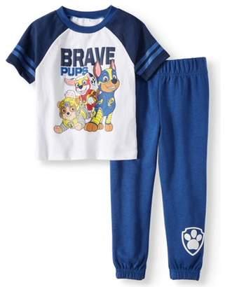 Paw Patrol T-shirt & Jogger Pants, 2pc Outfit Set (Toddler Boys)