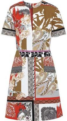 Etro Printed Cotton Mini Dress