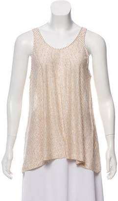 Giada Forte Patterned Sleeveless Top w/ Tags