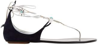 Aquazzura Leather flip flops
