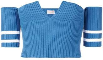 MRZ knitted cropped top