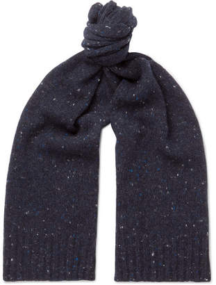 Anderson & Sheppard Donegal Wool-Blend Scarf