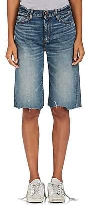 Simon Miller Women's W010 Wide Denim Shorts