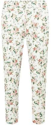 Dorothy Perkins Womens Petite Multi Coloured Ditsy Floral Print Trousers