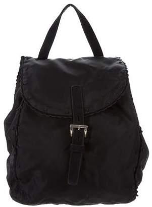 Prada Tessuto & Suede Backpack