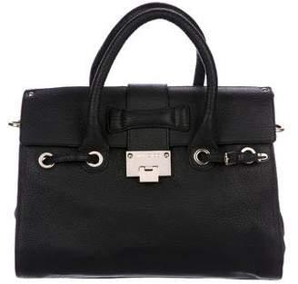 Jimmy Choo Leather Rosalie Handle Bag