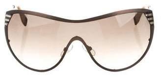Fendi Gradient Shield Sunglasses