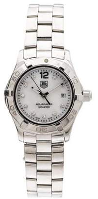 Tag Heuer Aquaracer Watch white Aquaracer Watch