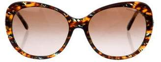 Tiffany & Co. Embellished Tortoiseshell Sunglasses