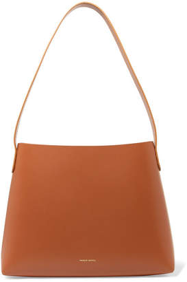 Mansur Gavriel Small Hobo Leather Shoulder Bag - Tan