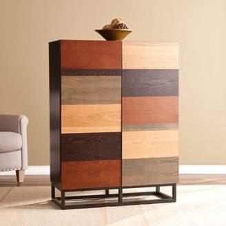 Southern Enterprises Kailey Bar Cabinet, Multi-Tonal