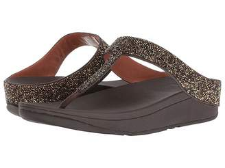 FitFlop Fino Quartz Toe Thong Sandals