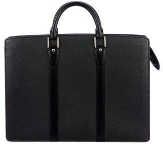 Louis Vuitton Taiga Lozan Briefcase w/ Strap