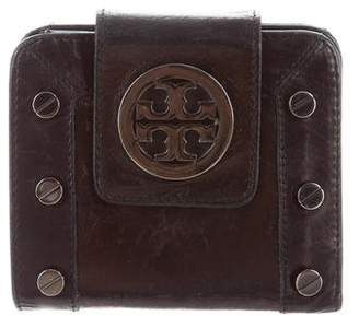 Tory Burch Studded Leather Wallet
