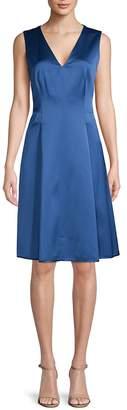 Anne Klein Women's Sleeveless Pleated Dress