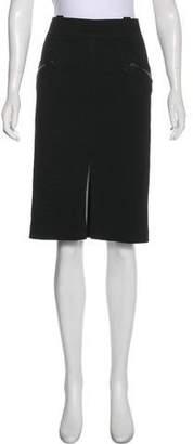 Tom Ford Tonal Knee-Length Skirt