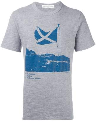 Golden Goose Scottish flag print T-shirt